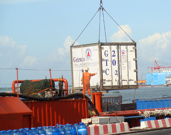 Certification for Getraco domestic port and warehouse investment project